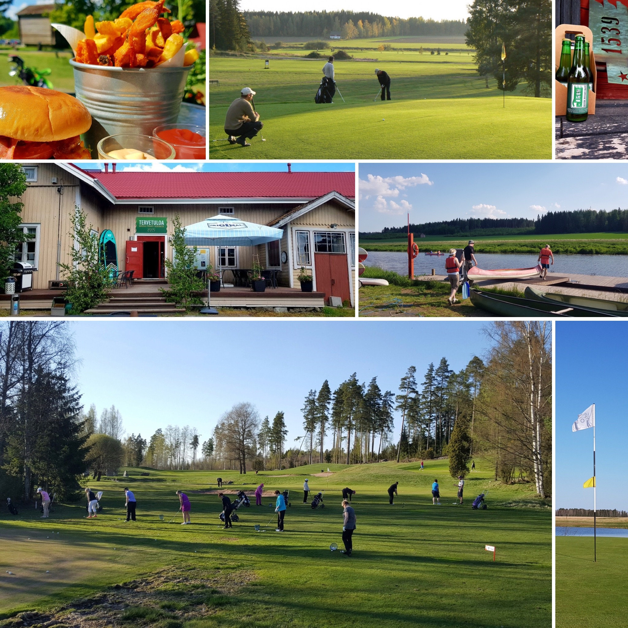 Loimijoki Golf-palvelukuva